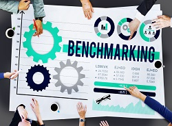Benchmarking Development Business Efficiency Concept
